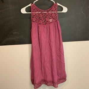 xhilaration magenta dress